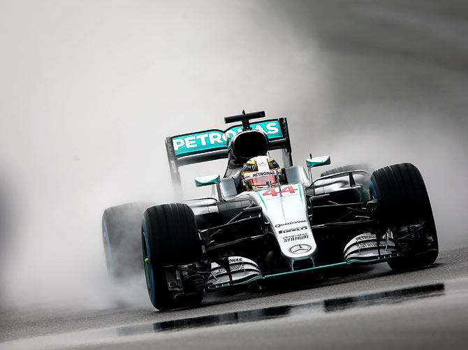 F1: Hamilton needs a Russian hat-trick to halt Rosberg streak