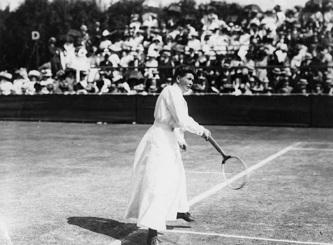 Charlotte Sterry Cooper was the first female individual medalist at the 1900 Olympic Games