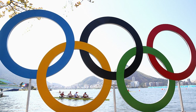 Serbian rower tests positive on arrival for Olympics