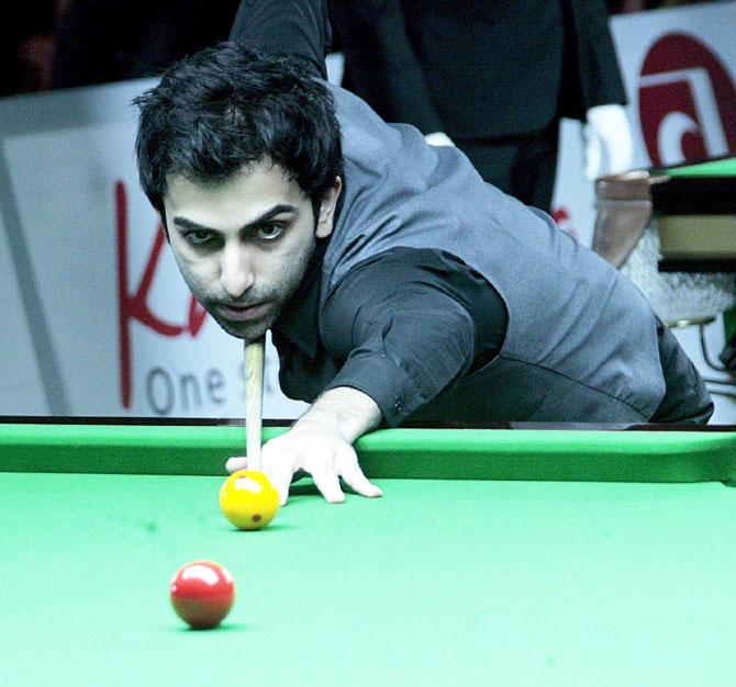 Pankaj Advani and Aditya Mehra beat their Thai opponents 4-1