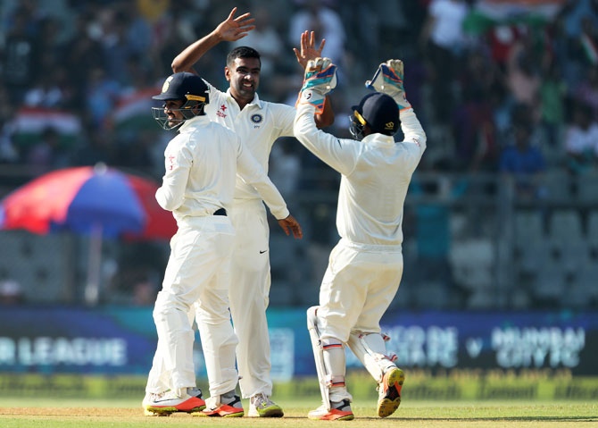 Ravichandran Ashwin celebrates Adil Rashid's wicket. Kohli says a transformed side, India still have the belief to beat a world class Test team