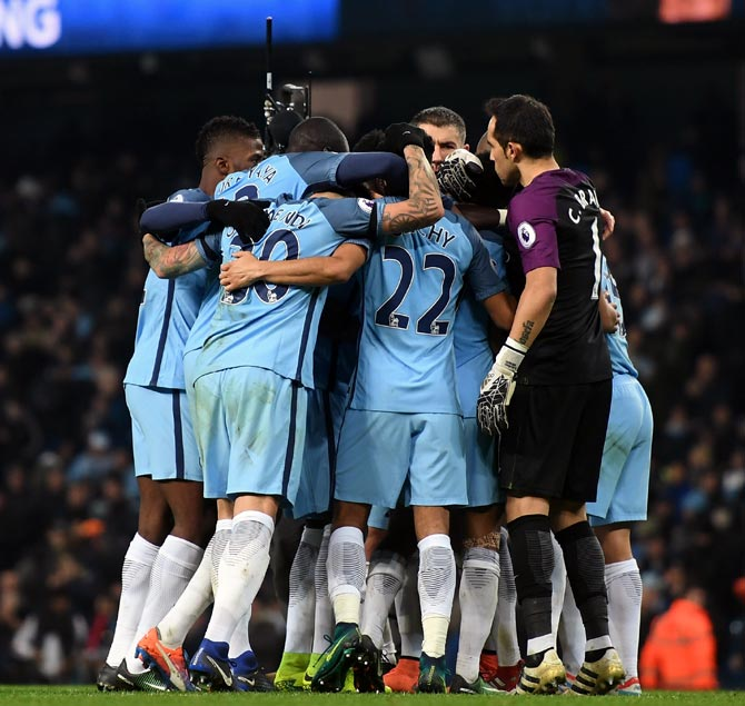 PHOTOS: Manchester City rally to beat Arsenal