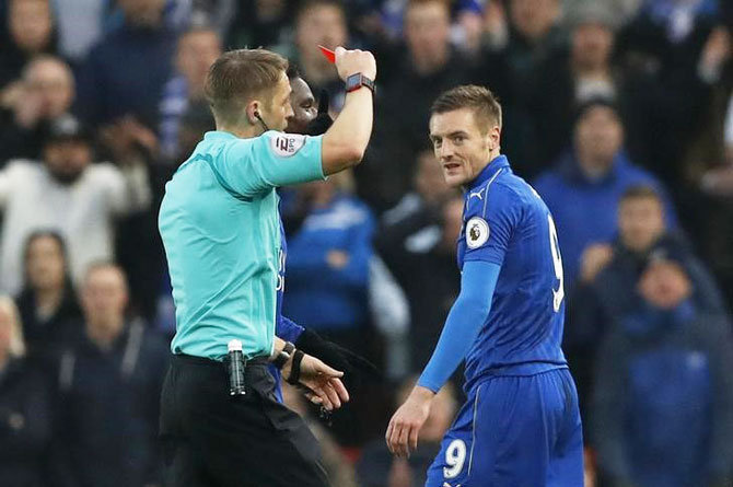 Vardy's three-game ban appeal rejected