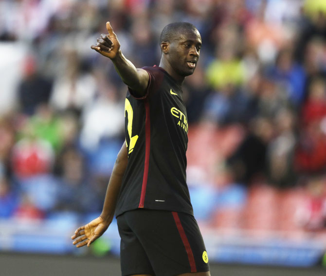 Toure spells out his dream for Manchester City