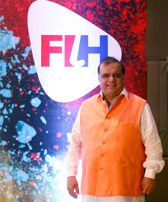 International Hockey Federation President Narinder Batra