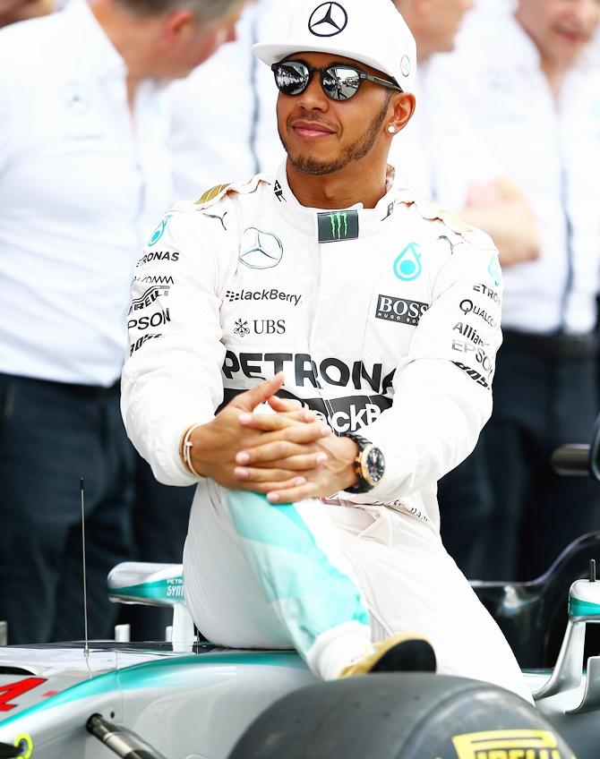 Check out Hamilton's new Mercedes F1 car