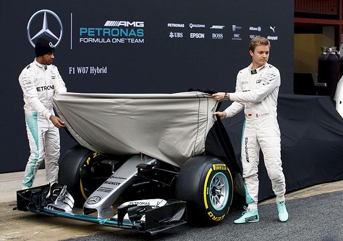Formula One: Hamilton says new Mercedes feels like the old one