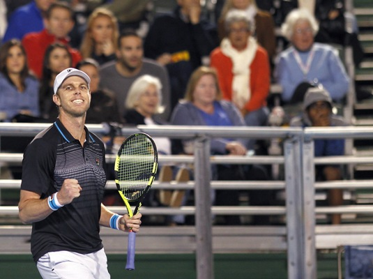 Querrey will next face either Croat Ivo Karlovic or Moldovan Radu Albot, who play their first round match on Wednesday