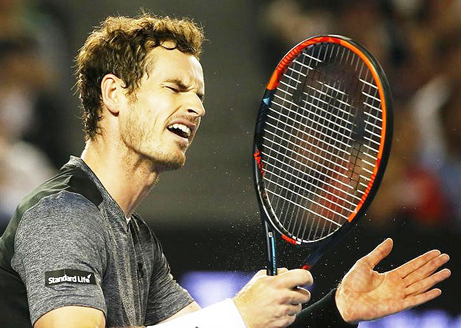 Murray has paid the price especially against aggressive opponents who enjoy playing on the front foot such as Thiem and Fognini