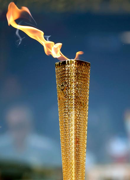 Olympic Torch A refugee will be torc...