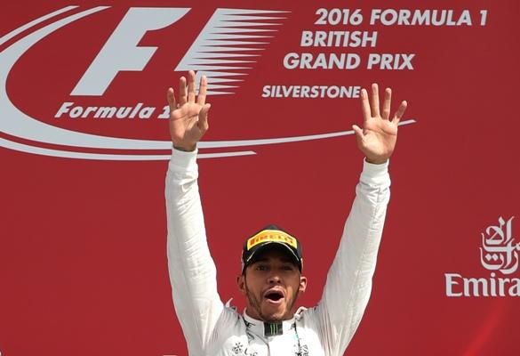Lewis Hamilton wins British Grand Prix from pole