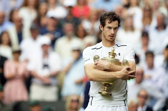 Great Britain's Andy Murray won the Wimbledon title in 2016