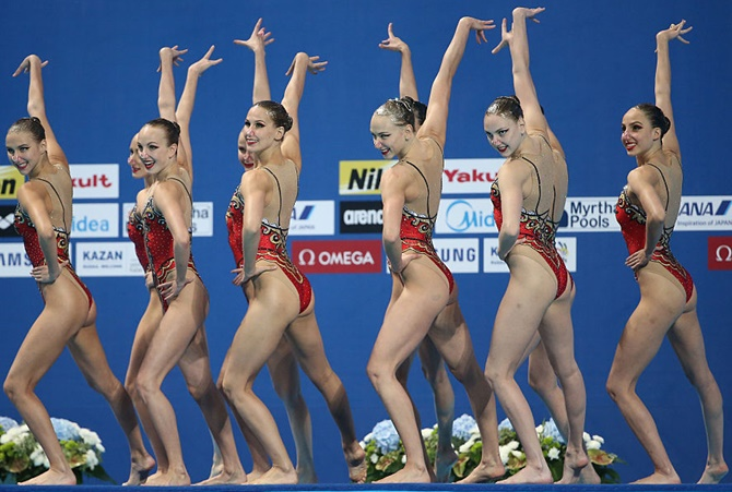 Russian athletes