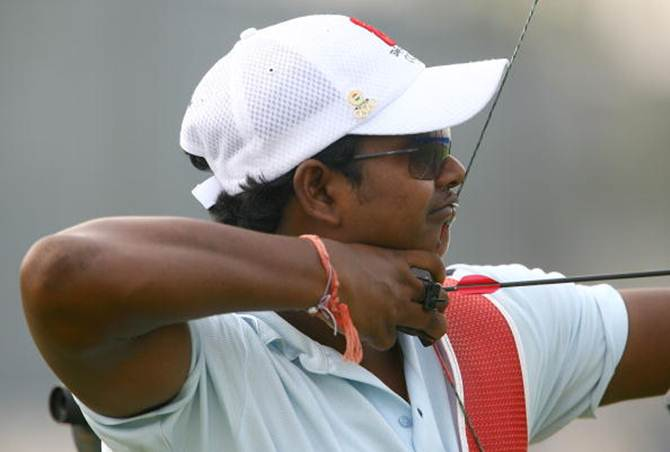 Mangal Singh Champia. The Jharkhand archer is a four-time World Cup gold medalist in team events