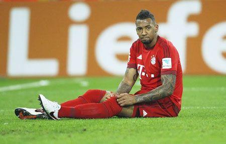 Bayern Munich's Jerome Boateng