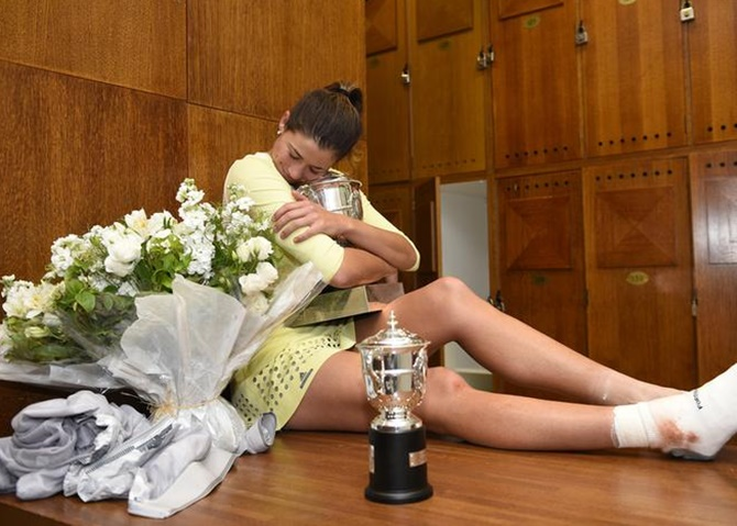 Garbine Muguruza achieved the rare feat of overpowering world Serena Williams to claim her maiden Grand Slam title with a 7-5, 6-4 win over the world number one and defending champion in the French Open final on June 4