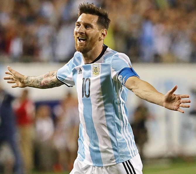 Lionel Messi's international ban was revoked by the FIFA Appeal Commitee