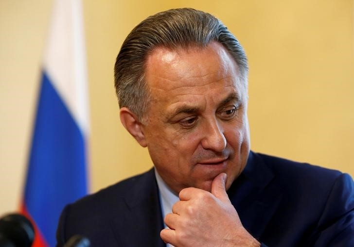 Putin says attacks on Mutko made it impossible to sack him