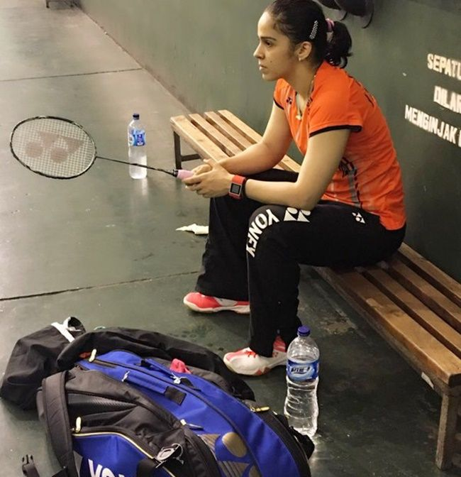 Saina Nehwal, who won a bronze medal in badminton at the 2012 London Olympics says: 'We all have to be safe first and then we can think about preparations'