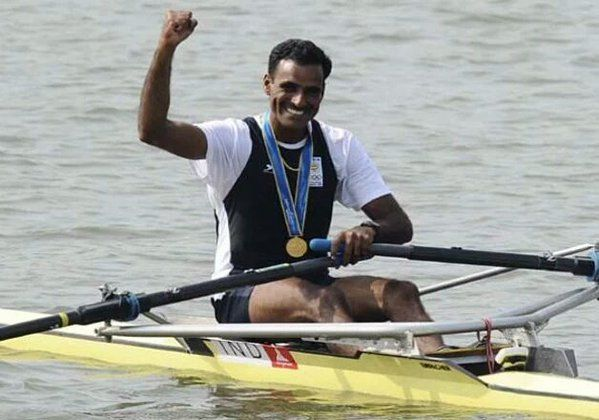 Indian rower Dattu Bhokanal who was banned by the RFI