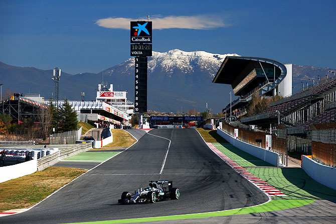 F1 testing: Rosberg fastest but expects more from Mercedes