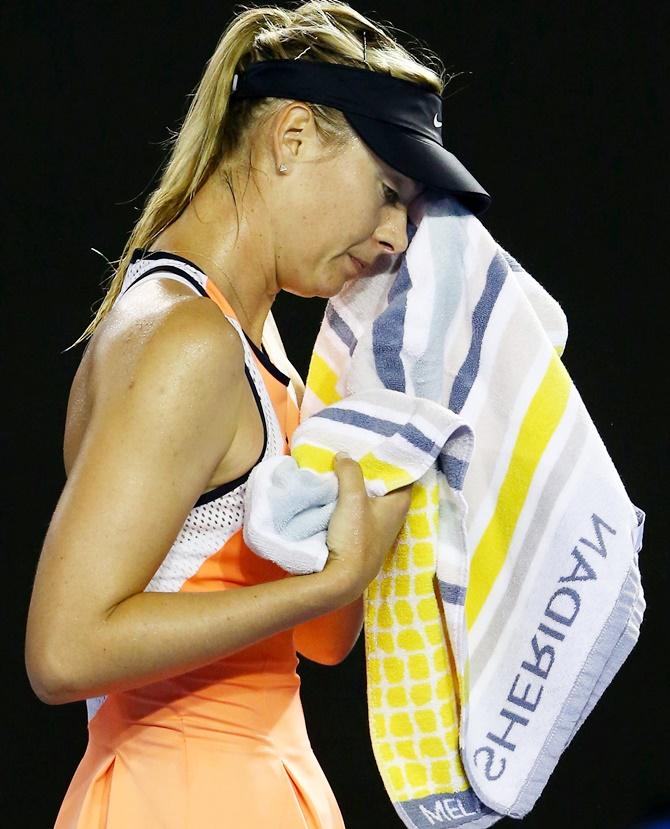 Maria Sharapova out of Wimbledon