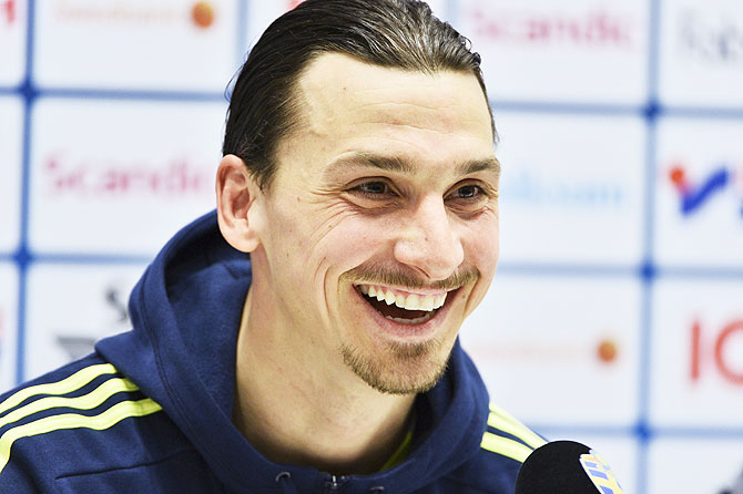 Ibrahimovic says Rooney is 'perfect partner'