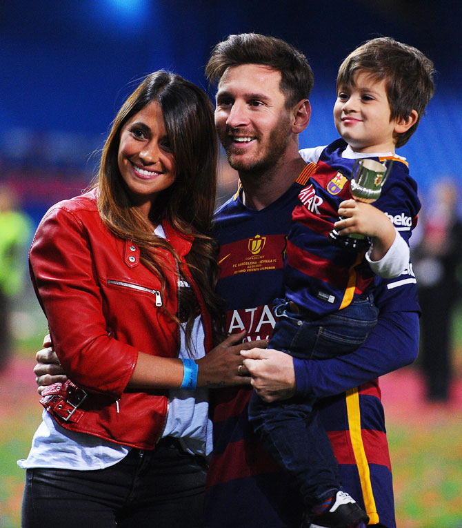 All Lionel messi son consider, that