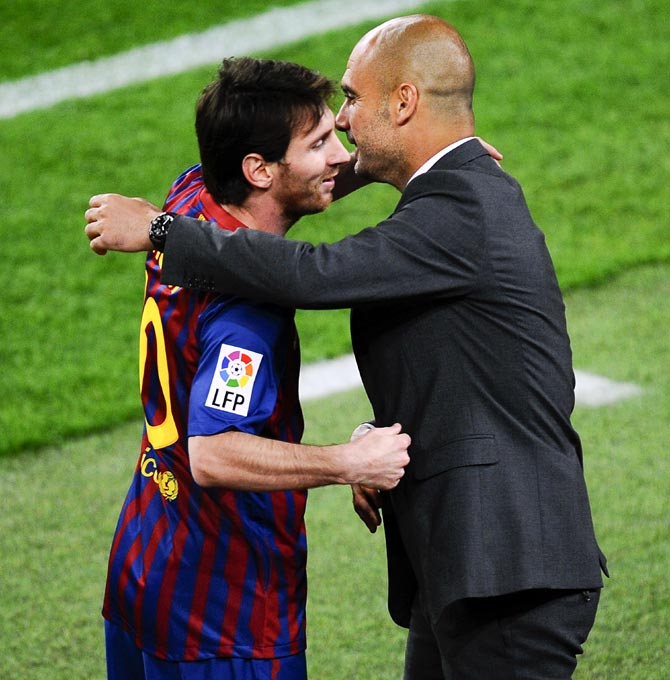 Pep Guardiola reiterated that he wants Lionel Messi to stay at Barcelona