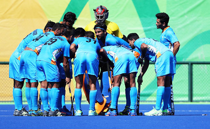 The Indian hockey team in a huddle (Image used for representational purposes)