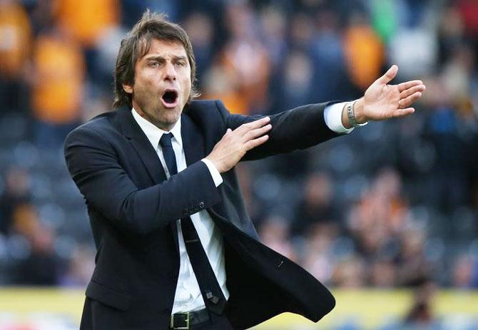 Chelsea coach Antonio Conte