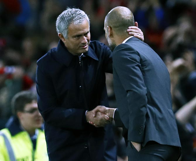 Man City boss Guardiola congratulates Sanchez on United move