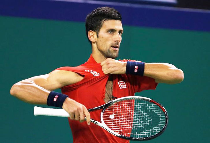 World No. 1 Novak Djokovic