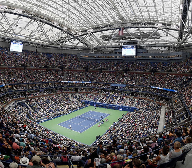 US Open roof