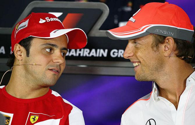 Massa and Button exits herald F1 generation change