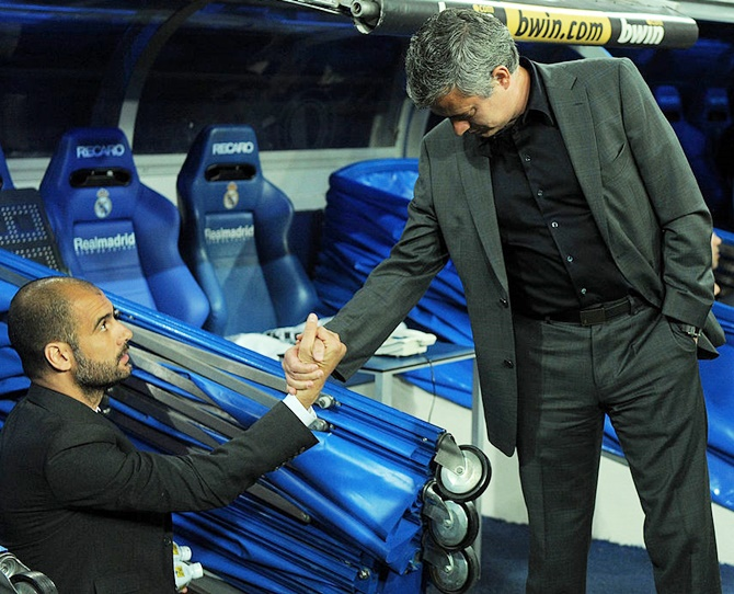 Mourinho vs Guardiola: The rivalry set to recommence