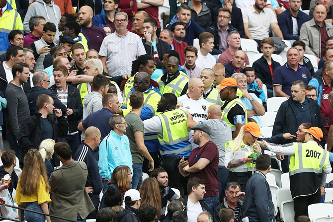FA will investigate West Ham crowd trouble during EPL match