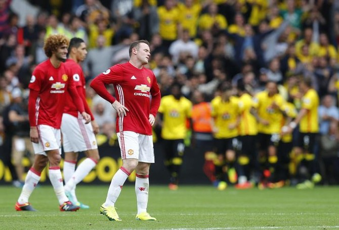 Watford condemns Manchester United to third successive defeat