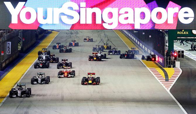 Economic slowdown hurts Singapore GP attendance