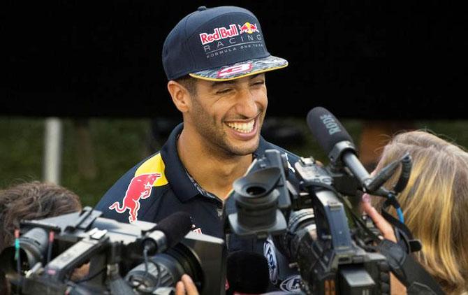 Ricciardo interview: Of Hamilton, Rosberg and awkward silences!