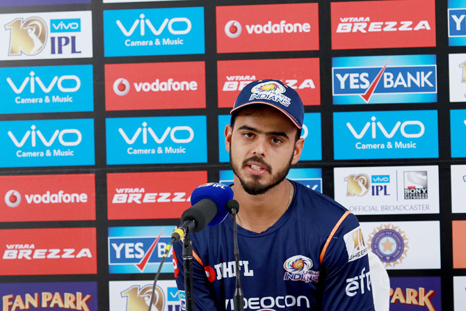 MI's Rana on how he coped with being dropped from Ranji squad