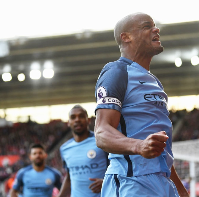 EPL PIX: Man City climb to third, Tottenham keep up Chelsea chase