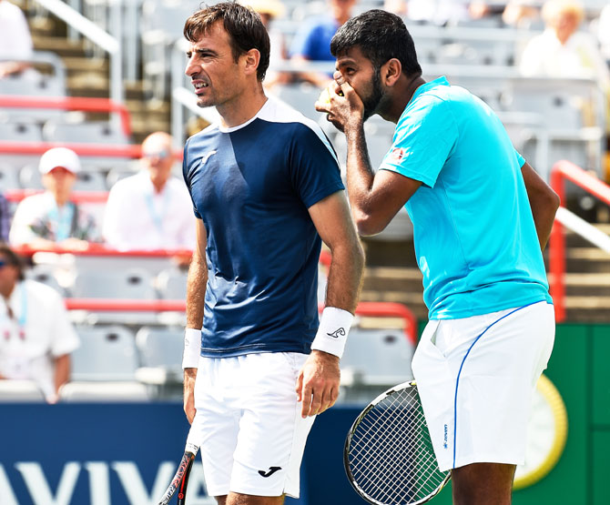 India's Rohan Bopanna and Croatia's Ivan Dodig discuss their strategy