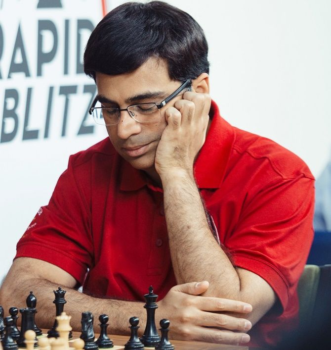Viswanathan Anand is on 6th points after 8 rounds.