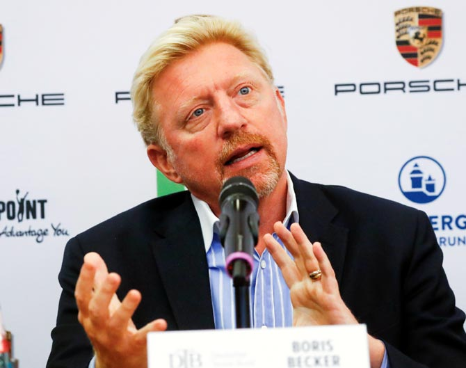 Multiple grand slam champion Boris Becker had declared bankruptcy in June this year