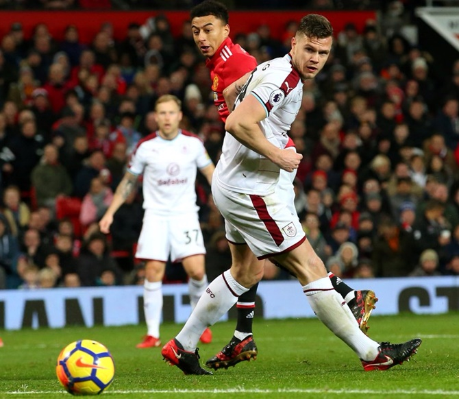 EPL: Lingard double helps United draw; Chelsea win