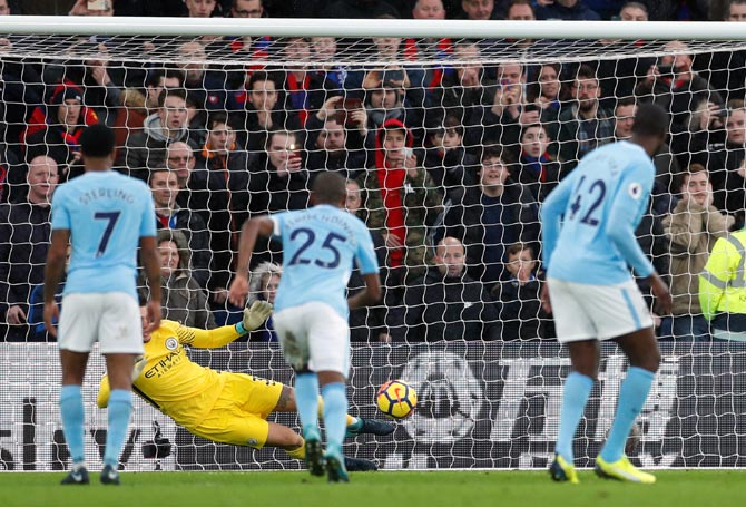 Keeper Ederson preserves City's unbeaten record