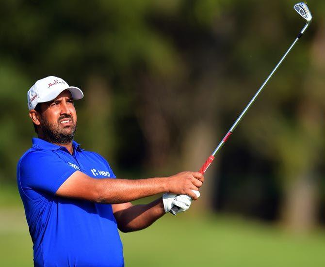 India golfer Shiv Kapur