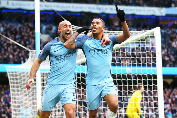 EPL: Jesus to City's rescue in late win over Swansea