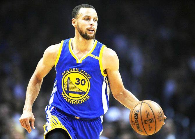 Three-time NBA champion Stephen Curry